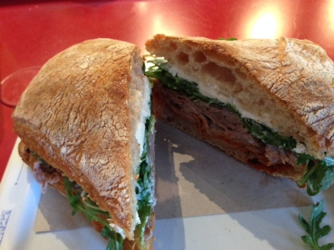 Romesco Sandwich